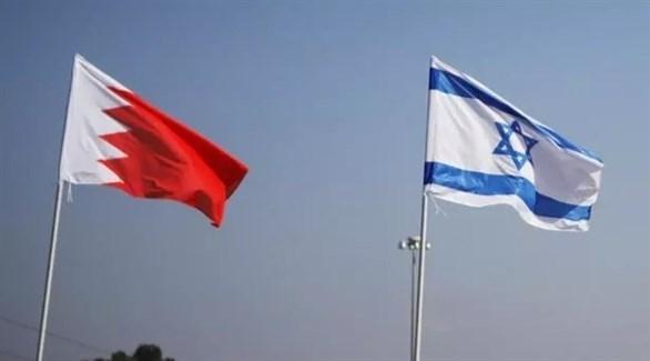 علم إسرائيل والبحرين في تل أبيب (أرشيف)