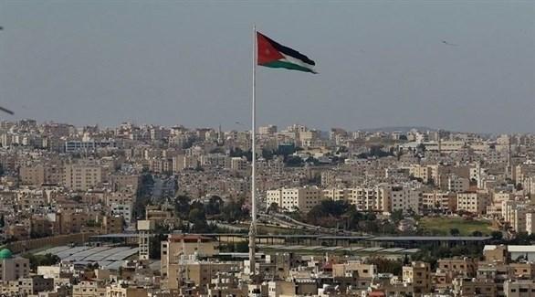 علم الأردن مرفوعاً في عمان (أرشيف)