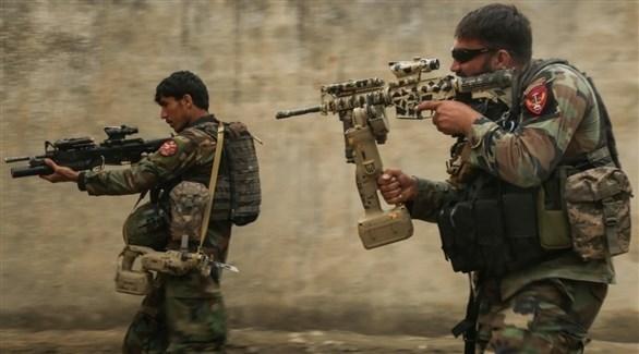 جنديان من الجيش الأفغاني (أرشيف)