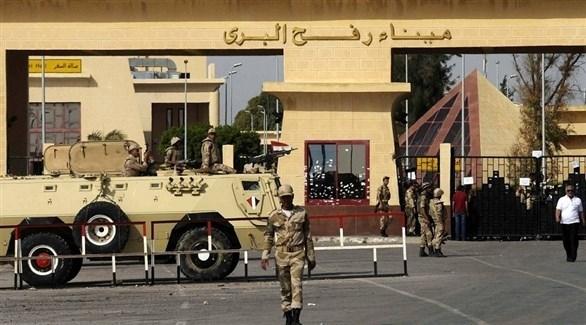 قوات مصرية عند معبر رفح (أرشيف)