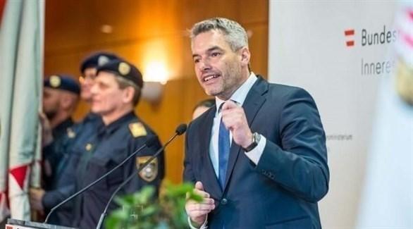وزير الداخلية النمساوي كارل نيهامر (أرشيف)