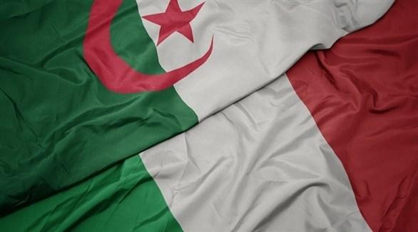 علم إيطاليا والجزائر (أرشيف)