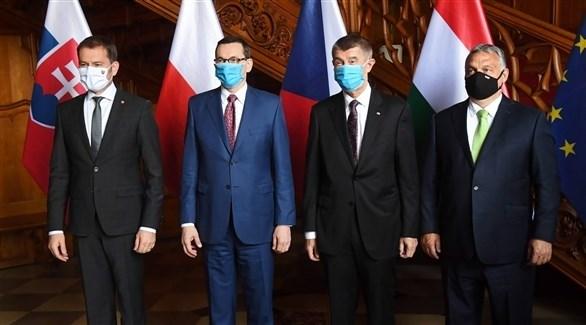 قادة دول فايسغراد (أرشيف)