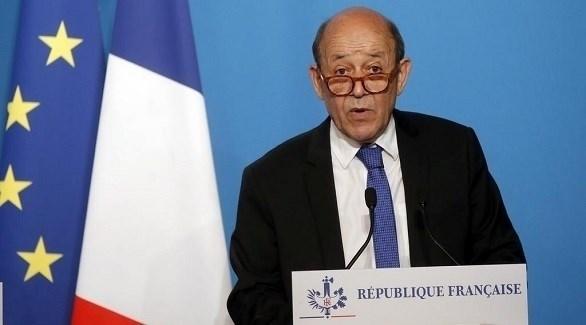 وزير الخارجية الفرنسي جان إيف لو دريان (أرشيف)