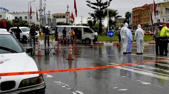 الأمن التونسي ينتشر في مكان هجوم سوسة (أرشيف)