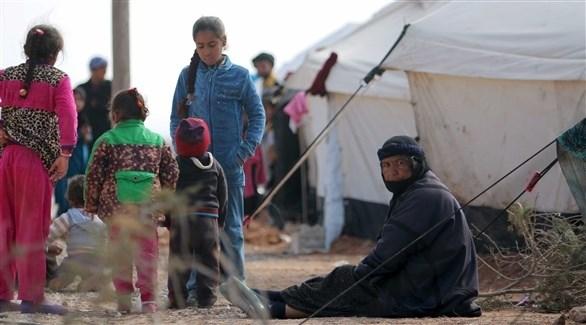 سكان مخيمات النازحين (أرشيف / رويترز)