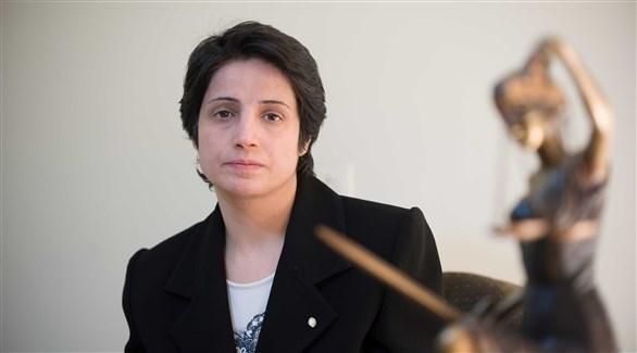 المحامية الإيرانية  نسرين سوتوده (أرشيف)