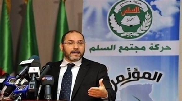 زعيم حركة حمس الجزائرية عبدالرزاق مقري (أرشيف)