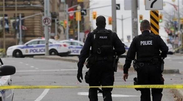 عنصران من الشرطة الكندية (أرشيف)