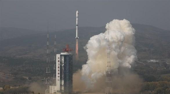 لحظة اطلاق أحد صاروخاً إلى الفضاء (أرشيف / شاينا دايلي )