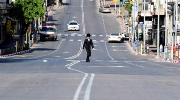 شوارع إسرائيل شبه خالية بسبب الإغلاق (أرشيف)