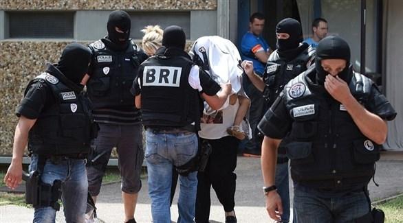 عناصر من الشرطة الفرنسية في حملة أمنية (أرشيف)