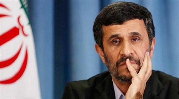 الرئيس الإيراني السابق محمود أحمدي نجاد (أرشيف)
