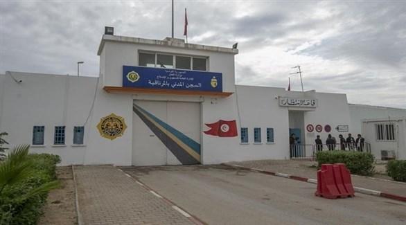 بوابة سجن المرناقية في تونس (أرشيف)