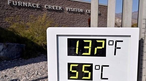 قد تصل درجات الحرارة في وادي الموت إلى أكثر من 55 درجة مئوية (أوديتي سنترال)