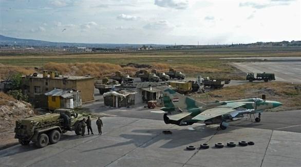 مطار التيفور العسكري في حمص (أرشيف)