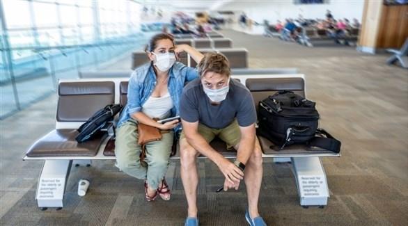 مسافران في مطار أسترالي (أرشيف)