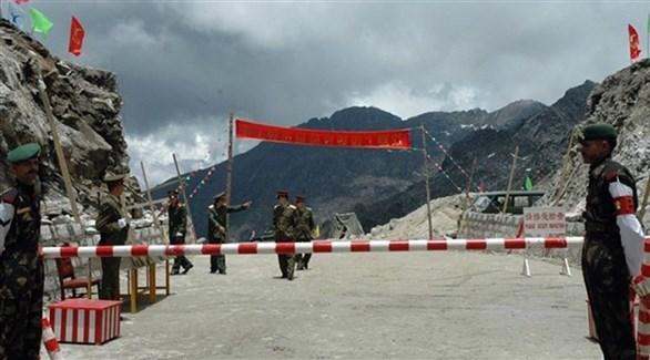 جنود على الحدود الهندية الصينية (أرشيف)