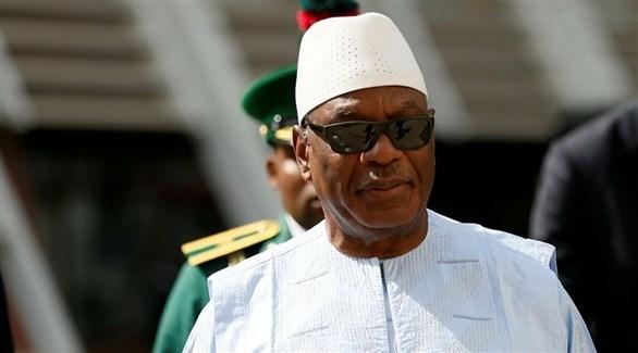 رئيس مالي السابق إبراهيم أبوبكر كيتا (أرشيف)