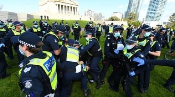 اعتقالات في ملبورن (أرشيف)