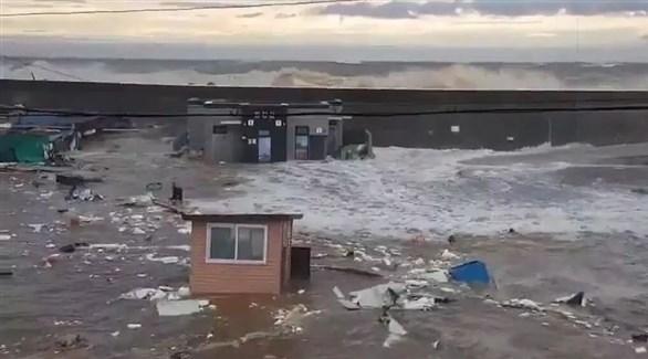 أثار الدمار التي خلفها إعصار مايساك (أرشيف)