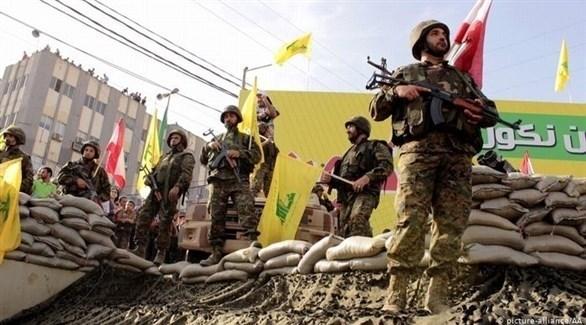 عناصر تابعة لميليشيا حزب الله الإرهابية (أرشيف)