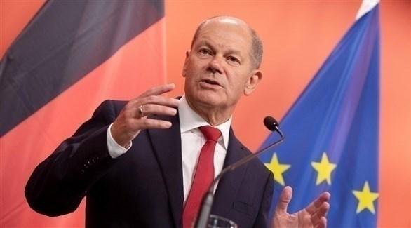 وزير المالية الألماني أولاف شولتس (أرشيف)