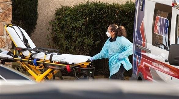 نقل مريض كورونا إلى المستشفى في أستراليا (أرشيف)