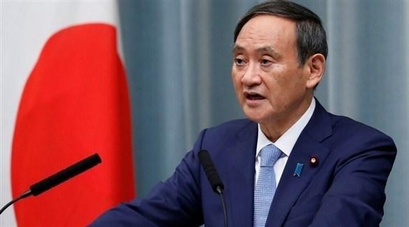 كبير أمناء مجلس الوزراء الياباني يوشيهيدي سوجا (أرشيف)