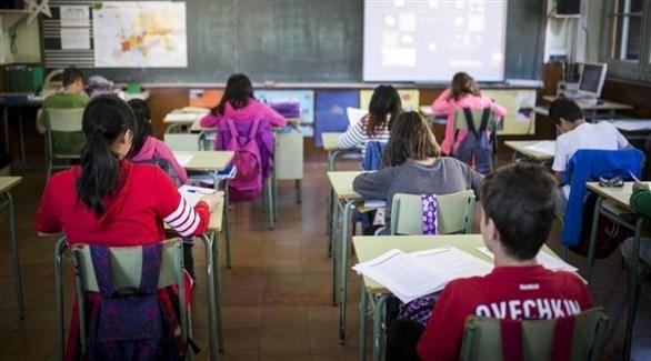 طلاب في مدارس إسبانية (أرشيف)