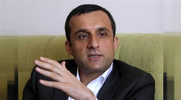 نائب الرئيس الأفغاني أمر الله صالح (أرشيف)