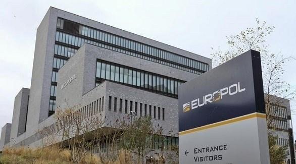 مقر الشرطة الأوروبية يوروبول في لاهاي الهولندية (أرشيف)