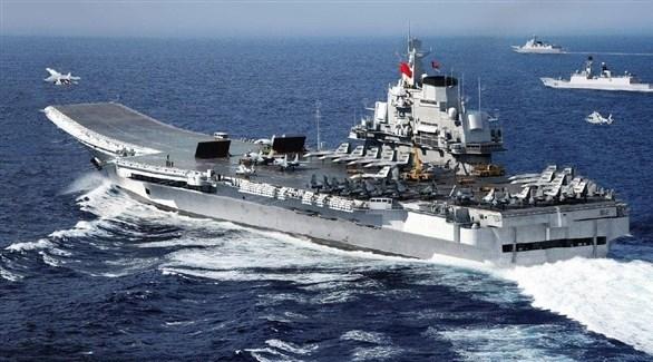 حاملة طائرات صينية في بحر الصين الجنوبي (أرشيف)