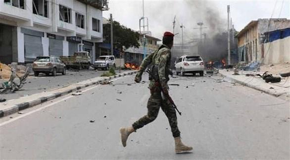انفجار سيارة مفخخة في قاعدة عسكرية في الصومال (أرشيف)
