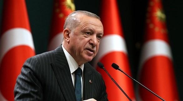 الرئيس التركي رجب طيب أردوغان (أ ف ب)