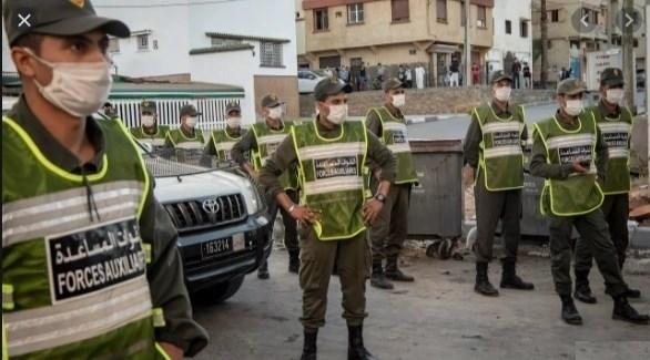 قوات الأمن في الدار البيضاء (أرشيف)
