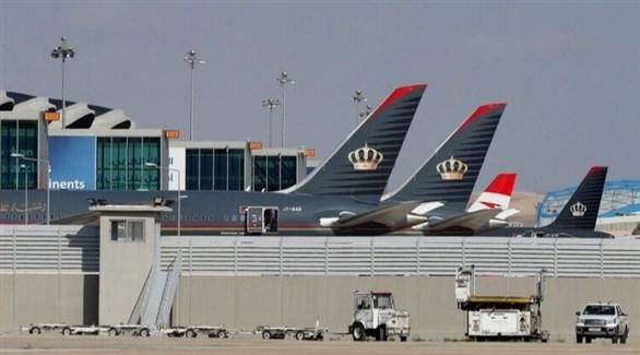 طائرات أردنية في مطار الملكة علياء (أرشيف)
