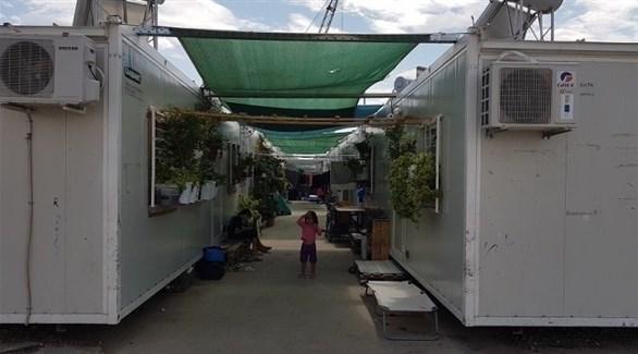 مخيم لإيواء المهاجرين قرب أثينا (أرشيف)