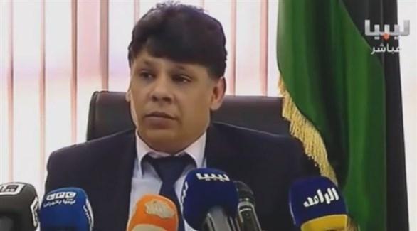 مدير التحقيقات بمكتب النائب العام الليبي الصديق الصور (أرشيف)
