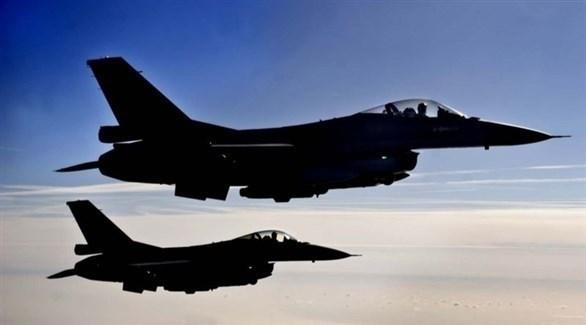 مقاتلات أف 16 (أرشيف / أ ف ب)