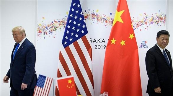 الرئيسان الصيني شي جين بينغ والأمريكي دونالد ترامب (أرشيف)