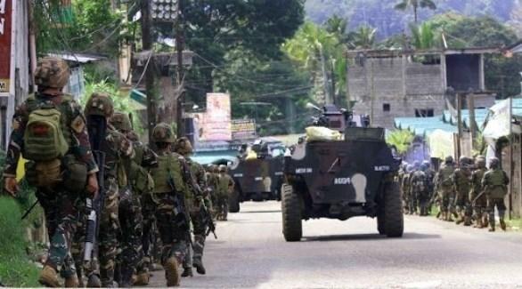جنود من الجيش الفلبيني في عملية ضد جماعة أبو سياف (أرشيف)