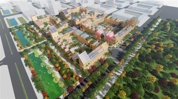 المدينة الصينية الجديدة المضادة لكورونا (ذا صن)