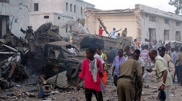 تفجير انتحاري سابق في الصومال (أرشيف)