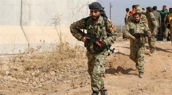 مسلحون موالون لتركيا في شمال سوريا (أرشيف)