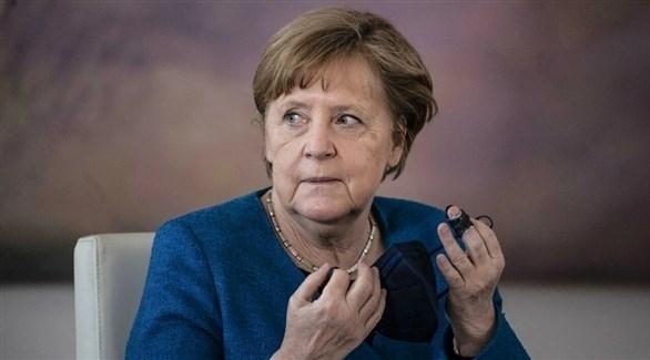 المستشارة الألمانية المنتهية ولايتها أنجيلا ميركل (أرشيف)