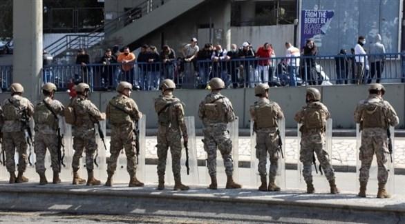 عناصر من الجيش اللبناني (أرشيف / رويترز)
