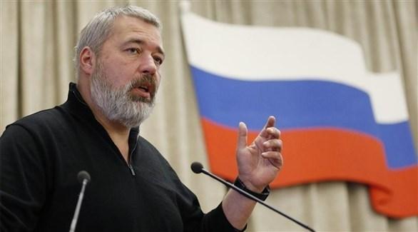 الصحافي الروسي دميتري موراتوف (أرشيف)