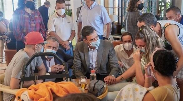 رئيس الوزراء الإسباني بيدور سانشيز (تويتر)