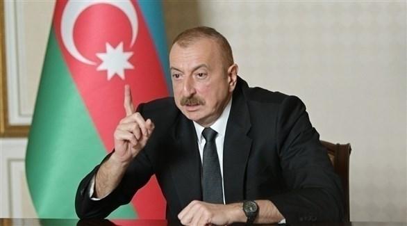 الرئيس الأذري إلهام علييف (أرشيف)